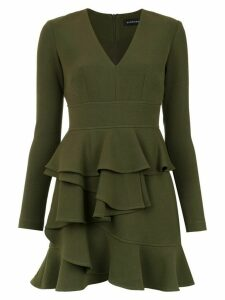 Olympiah Andes ruffled dress - Green
