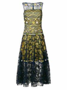 Talbot Runhof lace gown - Multicolour