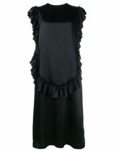 Simone Rocha sleeveless ruffle dress - Black