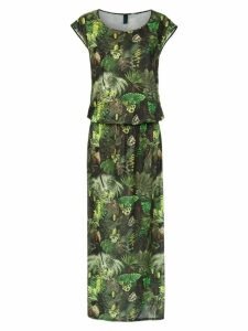 Lygia & Nanny Vinales printed maxi dress - Green