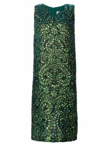 Maison Margiela lizard print dress - Green