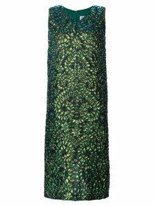 MAISON MARGIELA lizard print dress - Green