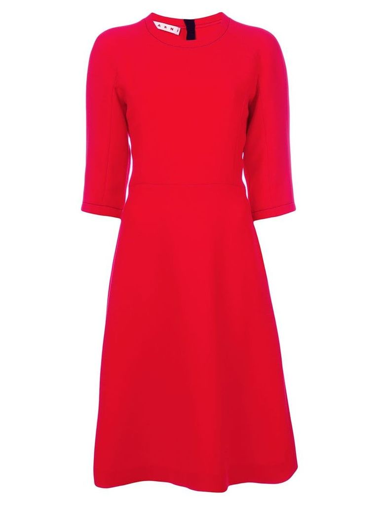 Marni flared shift dress