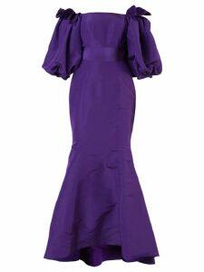 Bambah Balloon gown - Purple