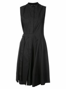 Proenza Schouler Cotton Wrap Dress - Black