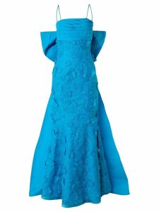 Bambah fish tail gown - Blue
