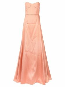 Rochas panelled flared dress - Pink