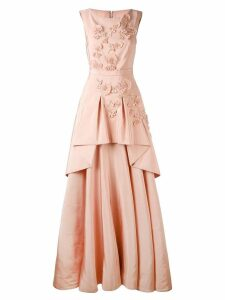Talbot Runhof Mogul dress - Pink