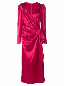Attico Pat sweetheart neck dress - Pink