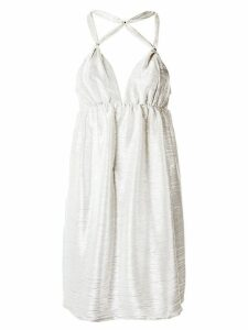 Tufi Duek strappy dress - White