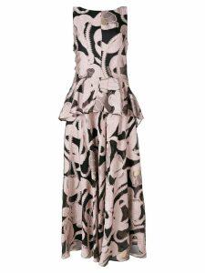Talbot Runhof Lovato dress - PINK