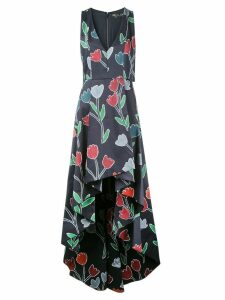 Alice+Olivia Beckie gown - Black