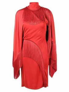 Givenchy Dress with Fringing - Red