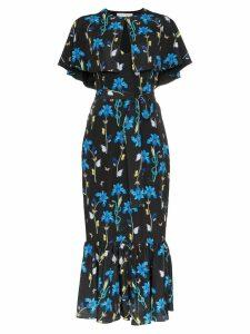 Borgo De Nor margarita floral print midi dress - Black