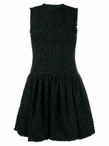 Simone Rocha tweed shift dress - Black