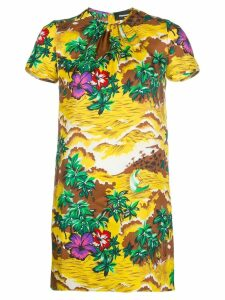 Dsquared2 floral fitted dress - Multicolour