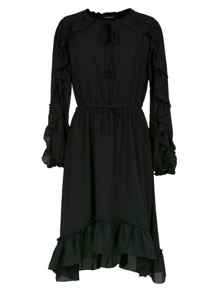 Olympiah Juli ruffled dress - Black
