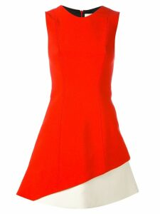 Fausto Puglisi colour-block dress - Red
