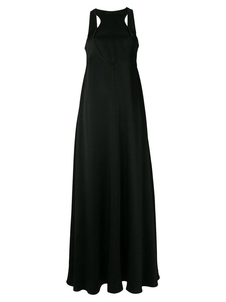 Valentino cut-out detailed evening dress - Black