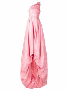 Monse one shoulder gown - Pink