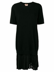 Nº21 midi lace dress - Black