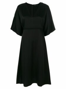 Theory Kensington V-neck dress - Black