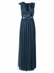 Talbot Runhof Pomade1 dress - Blue