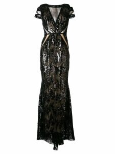 Talbot Runhof North Way gown - Black