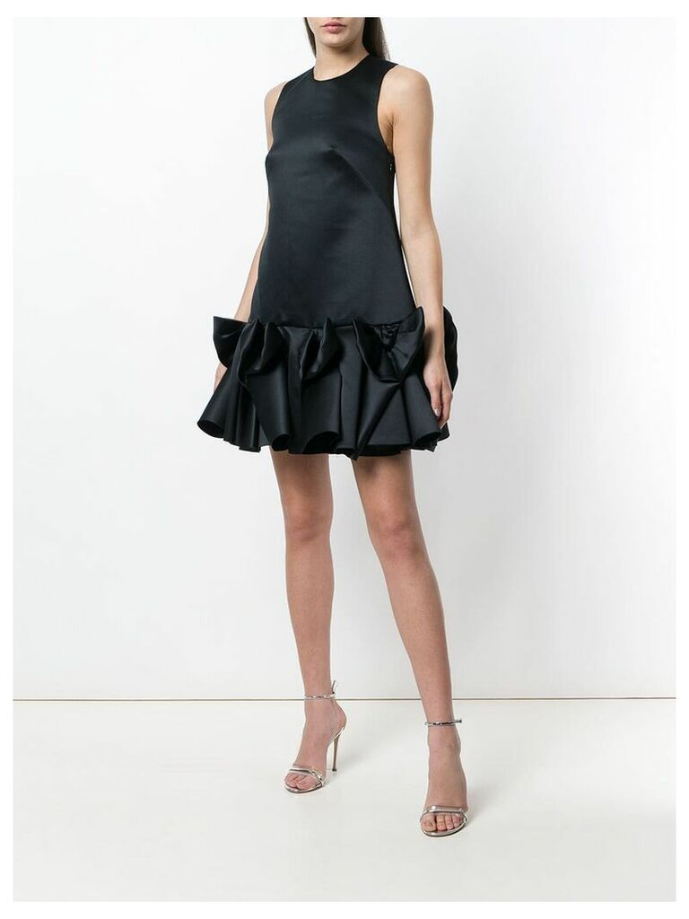 Viktor & Rolf Soir Bow Volant mini dress - Black