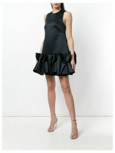 Viktor & Rolf Soir Bow Volant mini dress - Black