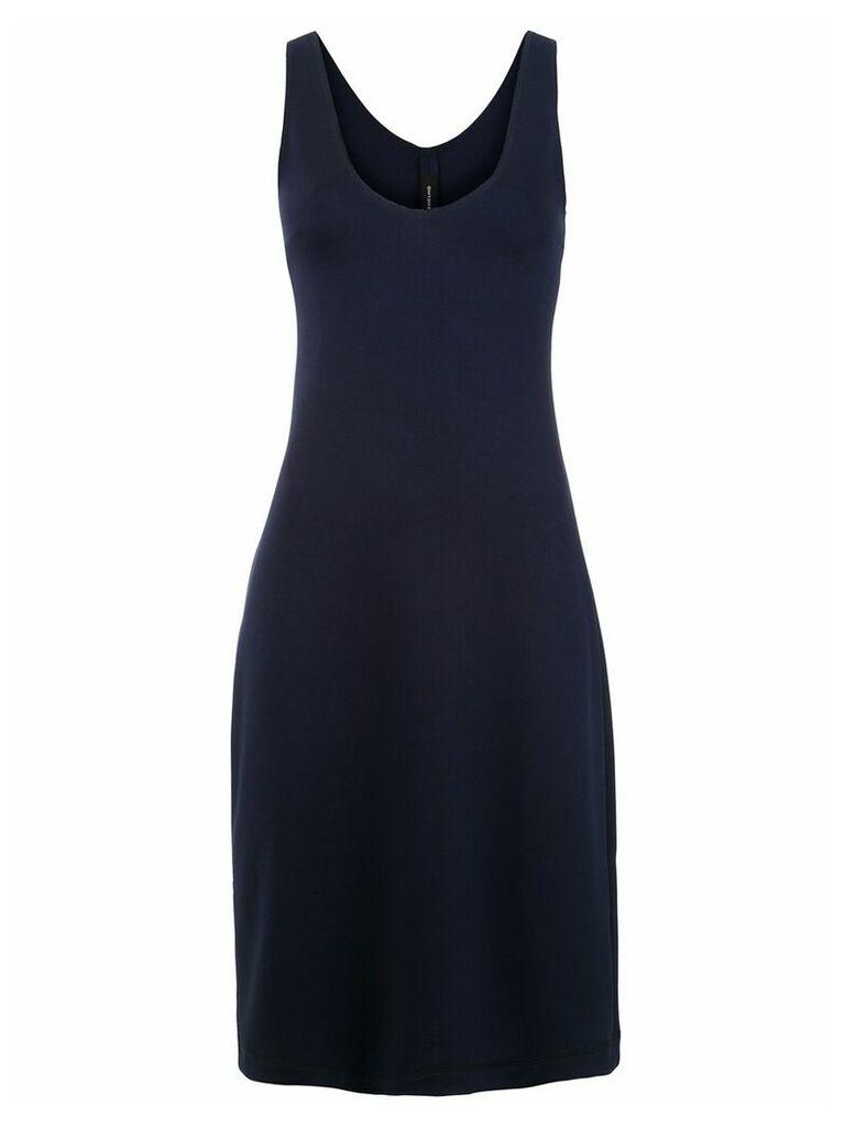 Gloria Coelho midi dress - Blue