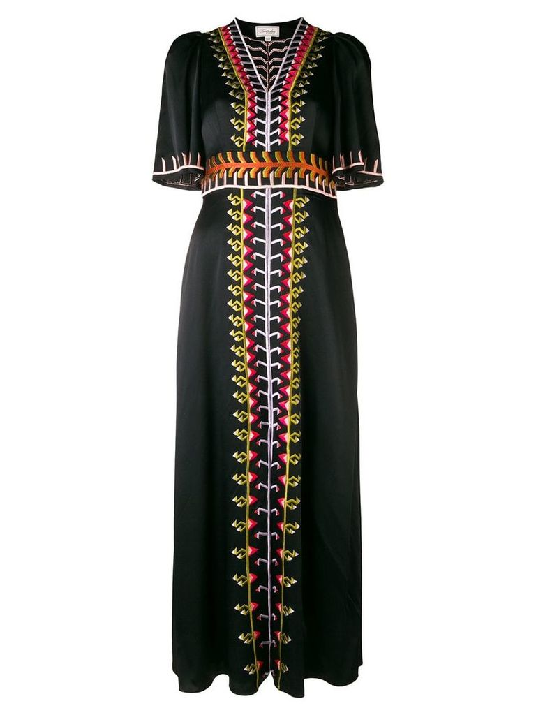 Temperley London Traveller long dress - Black