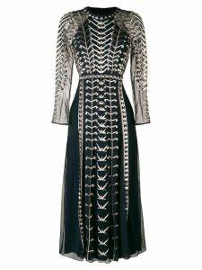 Temperley London Wild Life dress - Blue