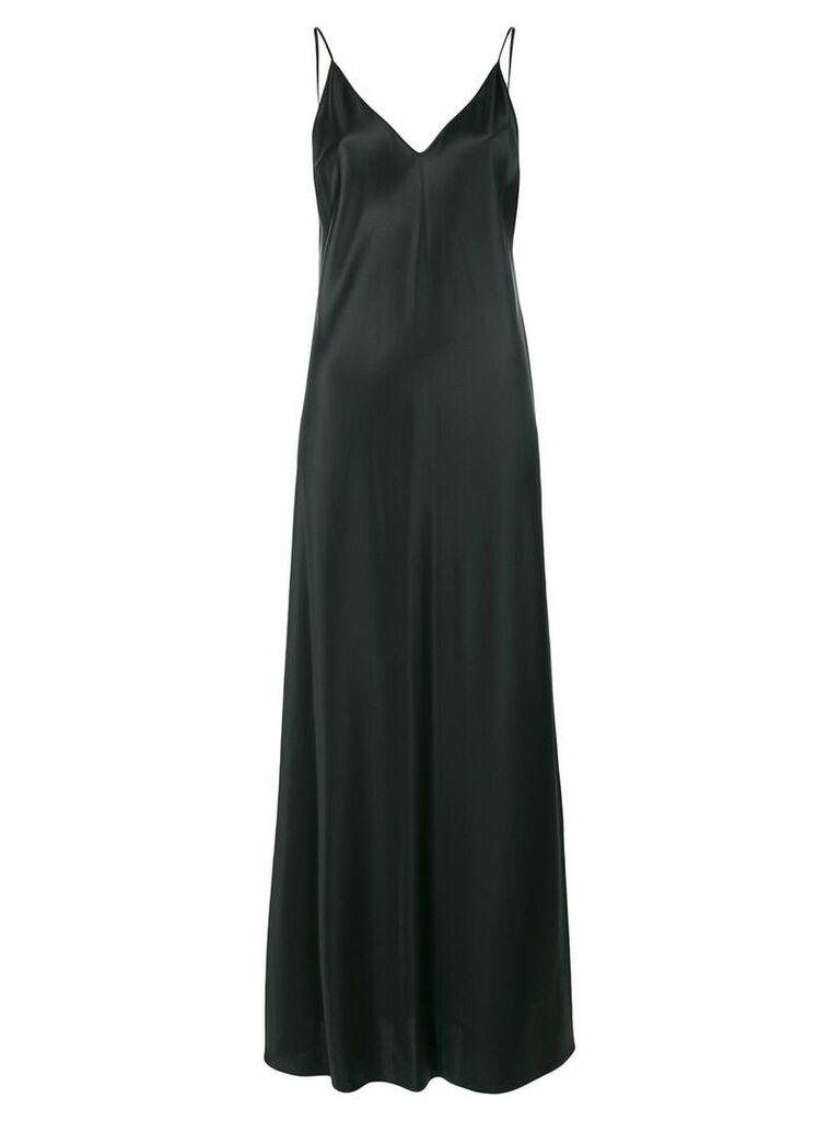 Joseph long slip dress - Black