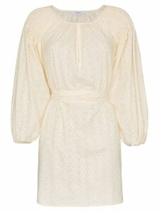 Marysia San Salvador cotton tunic dress - Neutrals