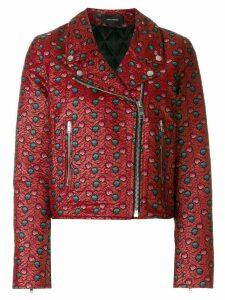 Isabel Marant Heaton embroidered biker jacket