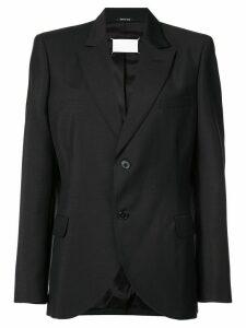 Maison Margiela peaked lapel blazer - Black