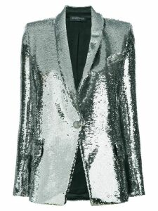Balmain sequin-embellished blazer - Metallic