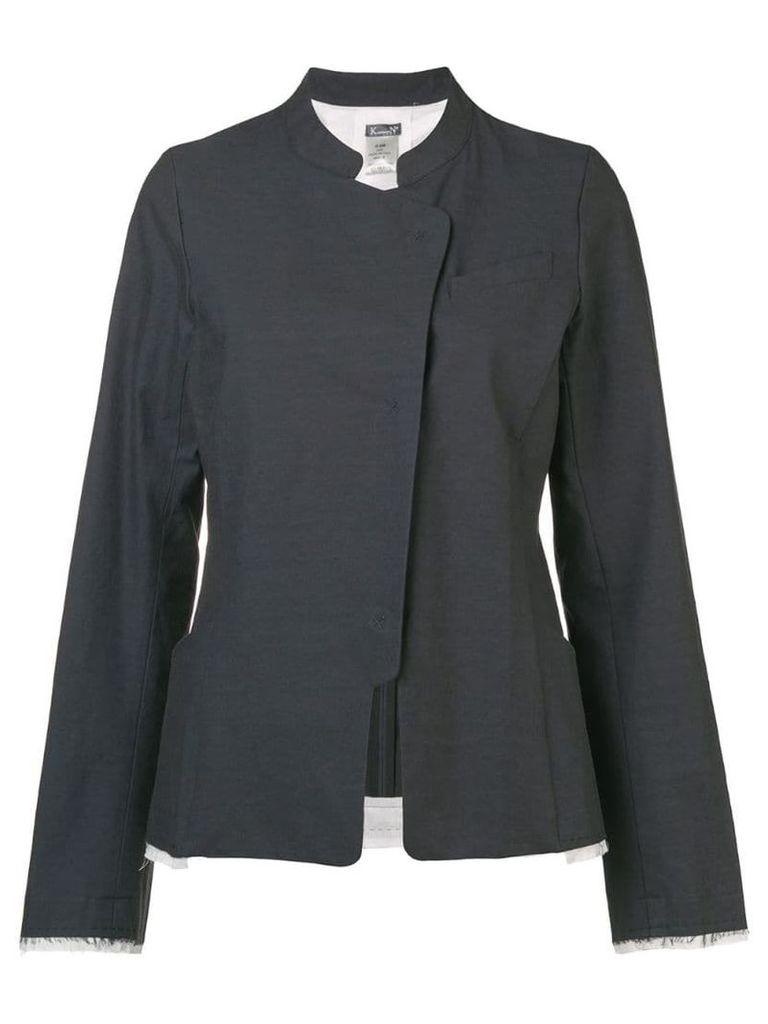 Kristensen Du Nord raw seam detail jacket - Grey