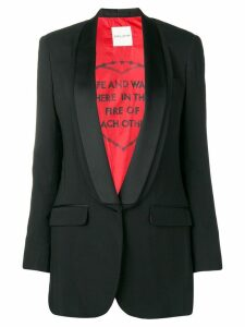 Each X Other shawl collar blazer - Black