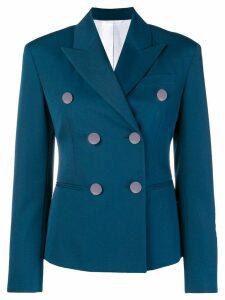 Calvin Klein 205W39nyc peaked lapel blazer - Blue