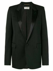 Saint Laurent Giacca smoking jacket - Black
