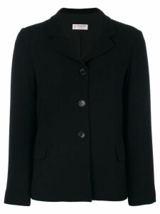 Alberto Biani tailored straight blazer - Black