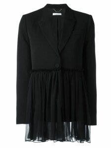 Givenchy gathered detail blazer - Black