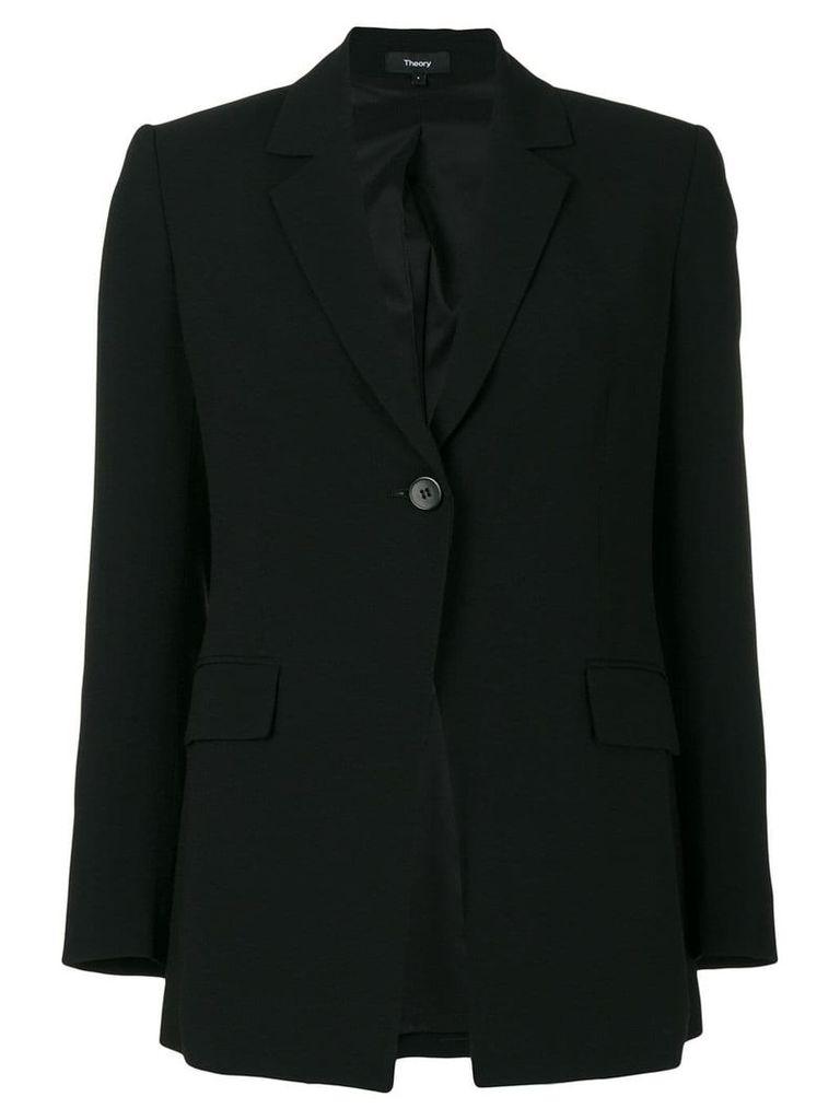 Theory flap pockets blazer - Black