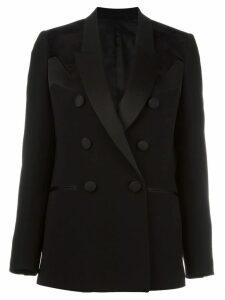 Neil Barrett geometric panel insert blazer - Black
