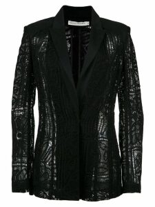 Martha Medeiros lace blazer - Black