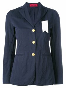 The Gigi three button blazer - Blue