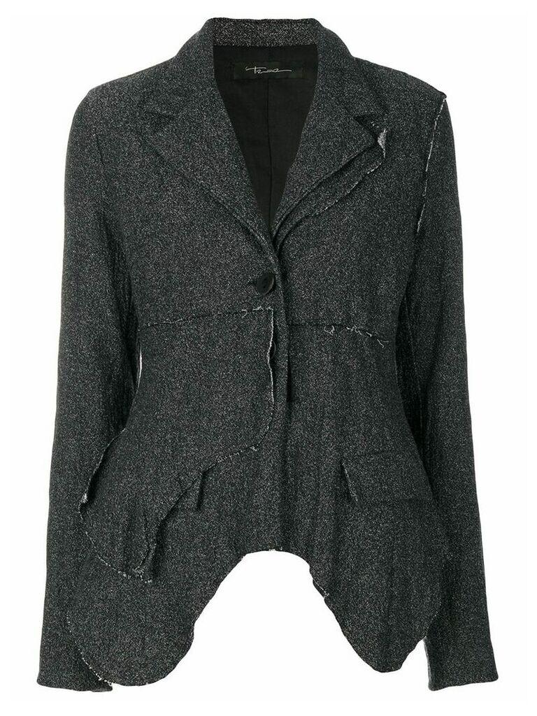 Barbara Bologna asymmetric blazer - Grey