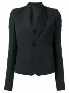 Rick Owens one button blazer - Black